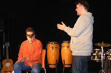 Zenei csapatépítő tréning